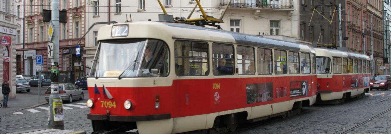 výluka tramvají