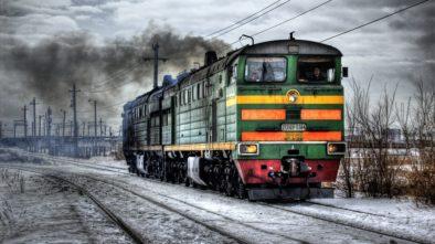 vlak praha