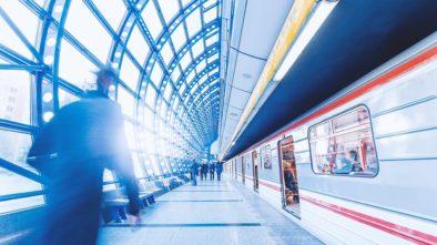 Polonazí lidé v Pražském metru