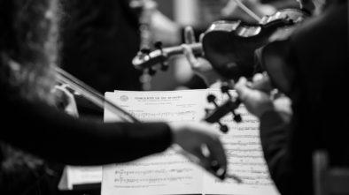 Konec ledna zhudebněn hobojem a orchestrem