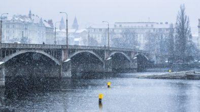 Libeňský most je uzavřen