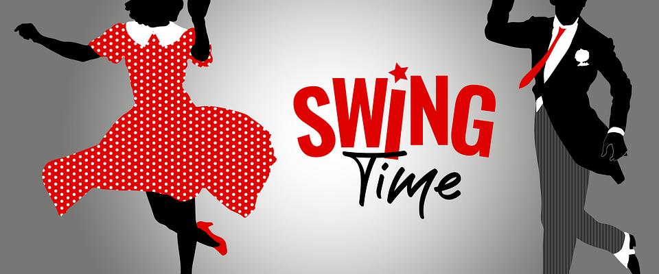 Swingové tančírny pod širým nebem přilákaly širokou veřejnost