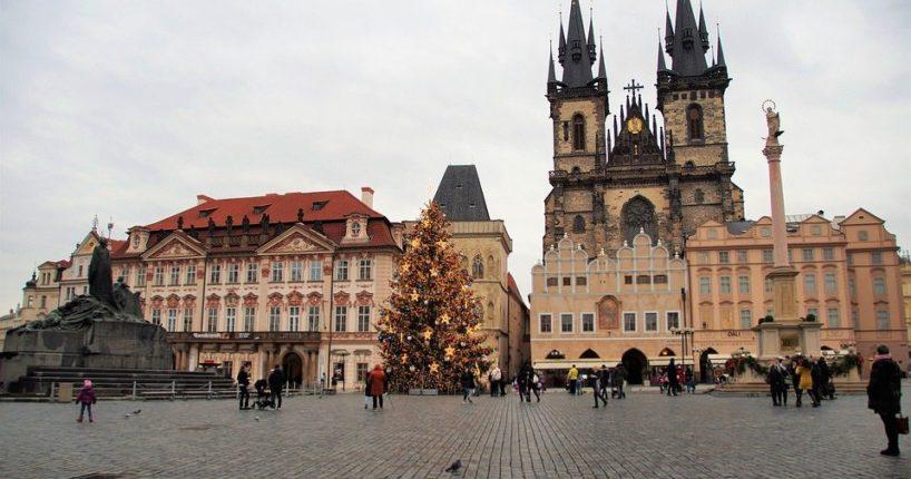 Praha ukončila své hledání vánočního stromu